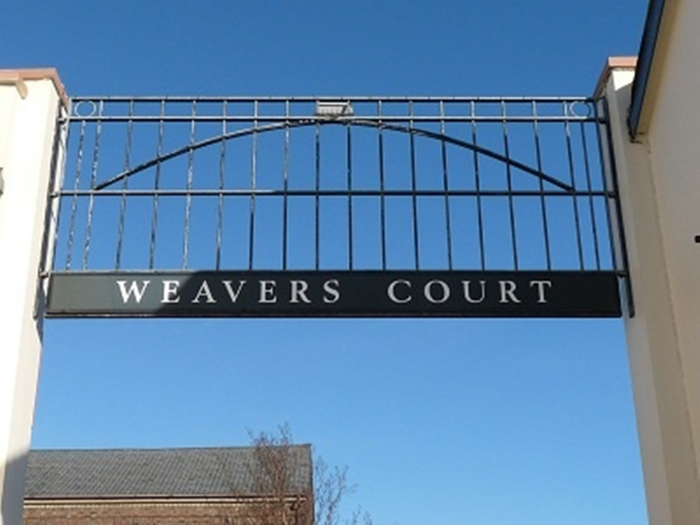 Weavers Court Entrance