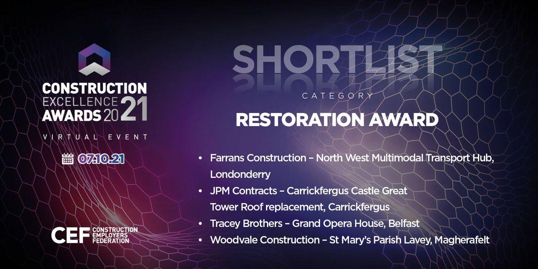 CEF shortlist award